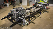 Rolling Chassis C4 Corvette Suspension Coil Over 55 56 57 Chevy Powder Coated