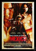 Once Upon A Time In Mexico Movie Poster Salma Hayek