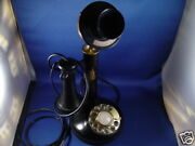1974 Dial Candlestick Telephone Made In Japan