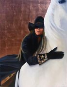 Best Friends By David Devary Cowgirl Horse Giclee
