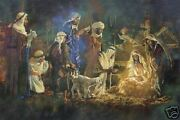 Birth Of The King By Michael Dudash Le Giclee Christmas