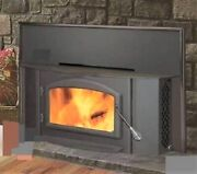 Wood Log Fireplace Insert Antique Replica Colonial New