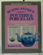 Macdonald Guide To Buying Antique Pottery And Porcelain