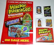 Wacky Packages All New Series 1 Ans1 Master Set