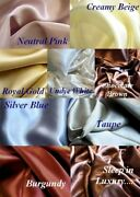 4 Pc 100 Silk Charmeuse Sheet Set Queen Half Retail Px By Feeling Pampered