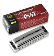 Seydel 1847 Harmonica Steel Reeds Key And Comb Of Choice
