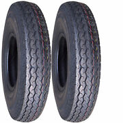 2 4.80-12 480-12 4.80x12 480x12 12 Tires 6ply For Boat Camper Utility Trailer