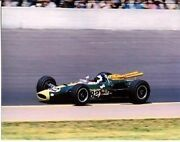 Jim Clark Lotus-ford Colin Ford 1965 Indy 500 Winner 8 X 10 Photo 82