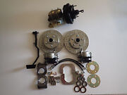 1967 - 1970 Ford Mustang Power 4 Wheel Disc Brake Conversion Front And Rear