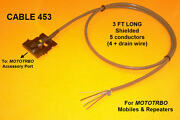 Cable 453 Motorola Mototrbo Xpr4300 Xpr4350 Xpr4500 Xpr4550 Xpr8300 Repeater