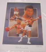 Muhammad Ali Autographed Limited Edition Lithograph Christopher Paluso