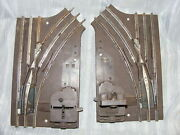 Vintage Lionel Left And Right Turnouts Pair O27 Gauge Switches