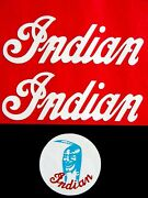 White Indian Mini Mm5a M5a Tank Decal And Mag Cover Decal Set 50cc 50 Early Model