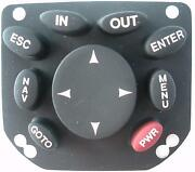 Magellan Meridian Color Handheld Gps Replacement Keypad Buttons - Black - New