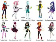Monster High Doll Iron On T-shirt Transfers 2 New