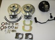 1967- 1970 Ford Mustang Power Front Disc Brake Conversion 4 Lug 6 Cylinder