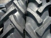 2 G Allis Chalmers Tractor Tires 7.2x30 W/tubes And 2 400x12 3 Rib W/tubes