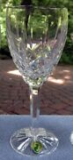 Fancy Waterford Crystal Araglin Platinum Large Water Goblet New And Mint