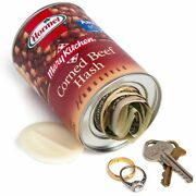Hormel ® Corned Beef Hash Homestyle - Decoy Security Bank Safe - Cash Jewelry