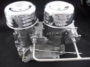Vintage Speedand039s Rochester 2g Dual Carb To 4 V Adapter. Setup Tri Power Hot Rod