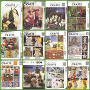 Oop Mccalls Sewing Pattern Christmas Holiday Mccalland039s Crafts Xmas Decorations