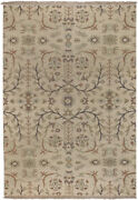 8x10 Surya Handmade Wool Cream Persien 9002 Area Rug - Approx 8and039 X 10and039