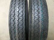 Two 530x12, 530-12 Boat Utility Trailer Tubeless Tires Load Range C