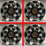 4 12 Rims Wheels For All Kawasaki Mule 550 600 610 - Type 393 Mbml Aluminum
