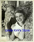 Jack Benny And Wife Mary Livingstone Promotional Photograph Jack Benny Show 1951
