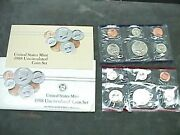 1988 U S Uncirculated Mint Set With D And P Mints 12 Coin
