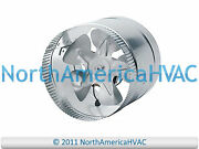 10 Round In-line Air Duct Booster Fan 115 Volt T9-mcm10 T9-db10 Db10 650 Cfm