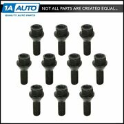 Dorman Wheel Bolts Front And Rear M12-1.5 X 23.5 Mm Kit Set Of 10 For Bmw