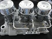 Vintage Speed's Rochester 2g Tri Power Hot Rod Rat Offy  Complete Fuel Setup