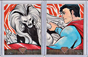 Superman The Legend Puzzle Sketch Set By Irma Ahmed
