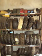 16x6x10-1/2 Forklift Rubber Press On Tires 16x6x10.5 Pallet Of Qty 30