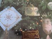 Counted Bead Embroidery Victorian Christmas Ornaments Purses Beaded Two Books