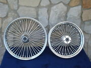 21x2.15 And 18x4.25 Dna Mammoth 52 Spoke Wheel Set For Harley Softail Fxst Dyna