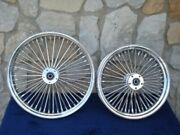 18x3.5 And 18x4.25 Dna Mammoth 52 Fat Daddy Spoke Wheels 4 Harley Softail Touring