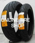 New 120/70-17 Front And 180/55-17 Rear Continental Conti-motion Motorcycle Tires