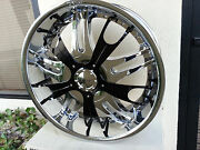 22 Inch Dvinci Vento Wheels Rimsandtires Fit Chevy And Ford Truck Or Suv 6x135/139