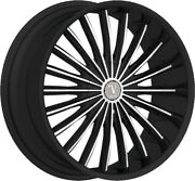 20 Inch Velocity V11 Black Wheels Rims And Tires Fit 5 X 114.3 Great Deals