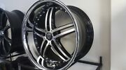 20 Inch Marquee 5329 Black Polish Wheels And Tires Fit 5 X 114.3 Great Deals