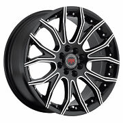 18 Inch R4 Revolution Wheels Rim And Tires Fit 5x 114.3 Great Deals