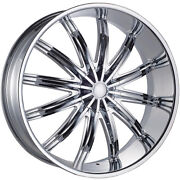 26 Inch Phino 28 Wheels Rims And Tires Fit 5 X 139 /135 Ram Charger F150 Good Deal