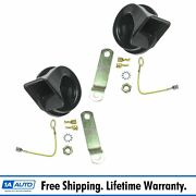 High And Low Tone Horn Set Kit For Chrysler Nissan Chevy Ford Toyota Pickup Truck