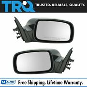 Trq Power Heated Side View Mirrors Pair Set For 07-11 Camry Us Model