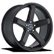 Mach M5 19 Inch 2crave Satin Black Wheels And Tires Fit 5 X 114.3 Great Deals