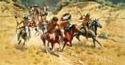 The Decoys Frank Mccarthy Western Indian Art Anniversary Edition Giclee Canvas