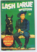 Lash Larue Western 4 Bell Features 1950 Canadian Edition