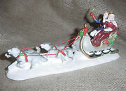 Dept 56 Snow Village Snow Carnival King And Queen 1995 54869 Retired Ec Nwob